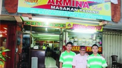 ARMINA Pengawal Kuliner Minang Halal & Toyib Di Pulau Seribu Pura